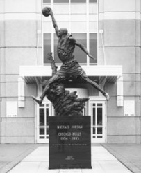 Michael Jordan - Sculpture