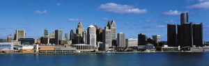 Skyline of Detroit