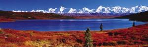 Wonder Lake in Autumn