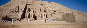Temple of Ramesses at Abu Simbel