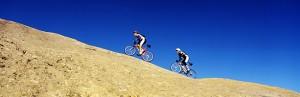 Bikers in Utah