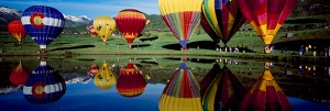 Colorful air baloons