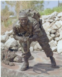 Special Forces Soldier - Sculpture