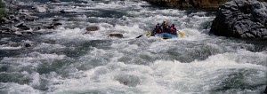 Rafting in California