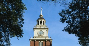 Colck Tower of Independence Hall