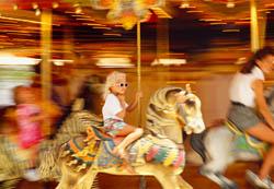Carousel Horses, Navy Pier