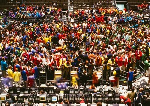 Trading at the CBOT Photo