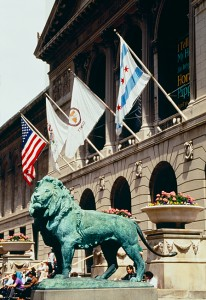 Lion Statue Chicago Illinois