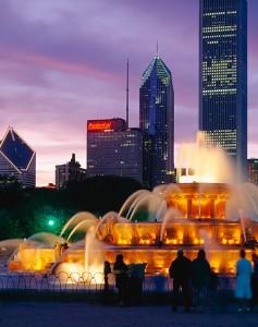 Picture of Buckingham Fountain Chicago Illinois