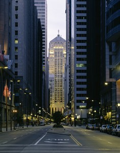 LaSalle Street Chicago IL Photograph