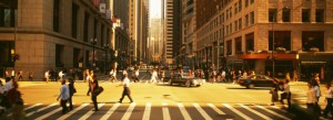 LaSalle Street and Randolph Intersection
