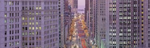 Picture of Michigan Avenue Chicago Illinois