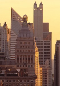 Michigan Avenue Buildings Chicago Illinois Picture