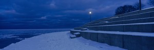 Picture of Chicago Lakefront in Winter