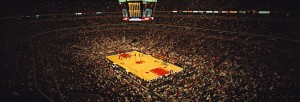 United Center Color Photograph