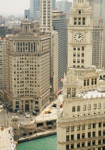 Wrigley Building Chicago Loop Photograph