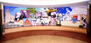 Mural 8' x 31'