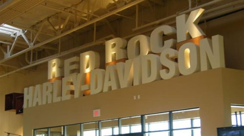 Harley Davidson Wall Block Graphics
