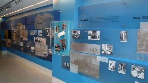 Luthern General Hospital History Wall