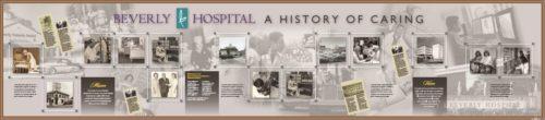 Hospital History Wall