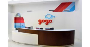 gogo reception graphics