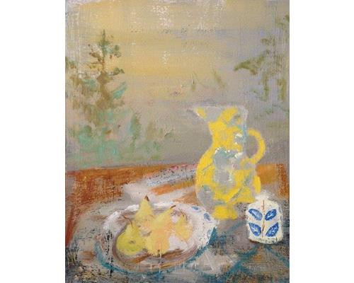Evening Still with Yellow Vase