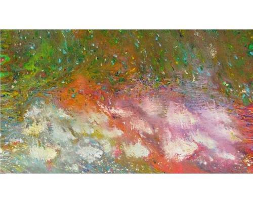 Ophelia acrylic on canvas