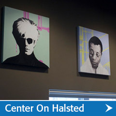 Center on Halsted Graphics