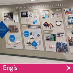 Engis Product Wall Recent Project