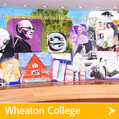 Wheaton College Decor