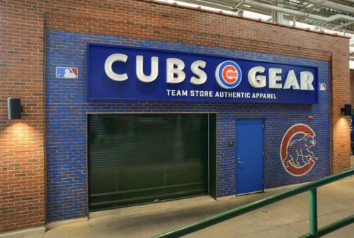 Cubs Gear Team Store Graphics