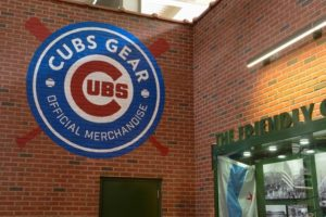 Cubs Gear Wall Graphic