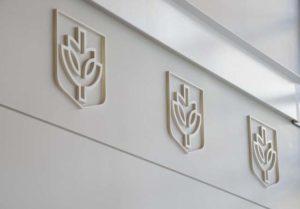 DePaul Wall Logo Design