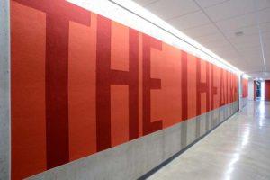 DePaul Theater School Wall Mural