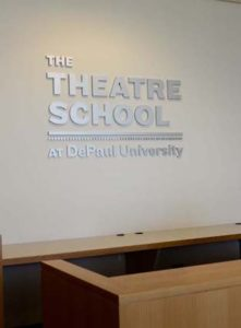 Acrylic Dimensional Letters at DePaul University