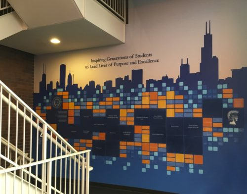 The Latin School Donor Wall Chicago