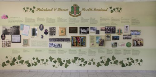 History Wall AKA Sorority