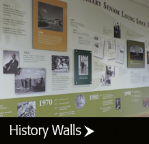 Corporate History Walls