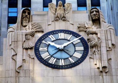 Chicago Board of Trade Building Clock