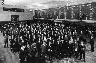 Chicago Stock Exchange 1928