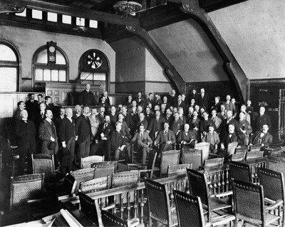 Early Chicago Stock Exchange Photos