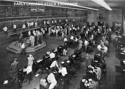 Old Stock Exchange Photos