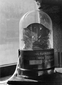 Historical Financial Photograph