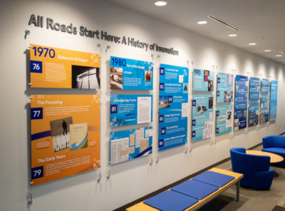 History Donor Walls