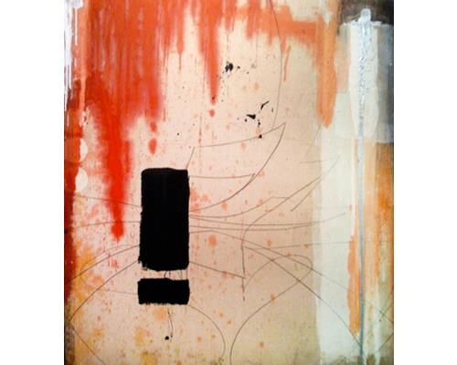 Z – mixed media on canvas 44 in. x 40 in