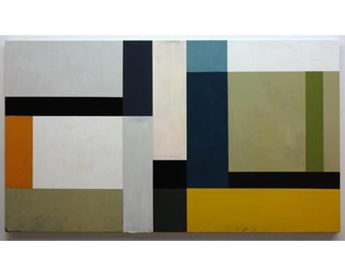 ss012-Rinaldi, Variation 53, acrylic on canvas, 32.2 x 56.2 in