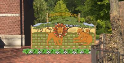 Zoo Donor Wall